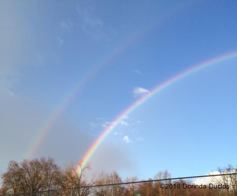 double rainbow me